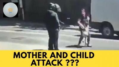 【感動!】母親と子供を狙った強盗・・・通りすがりの人々の行動に感動!