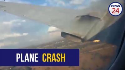 【衝撃!】飛行機墜落・・・乗客が動画を撮り続けた!衝撃映像!