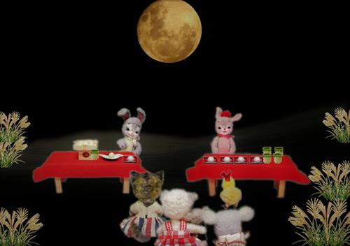 月見会場 (2)