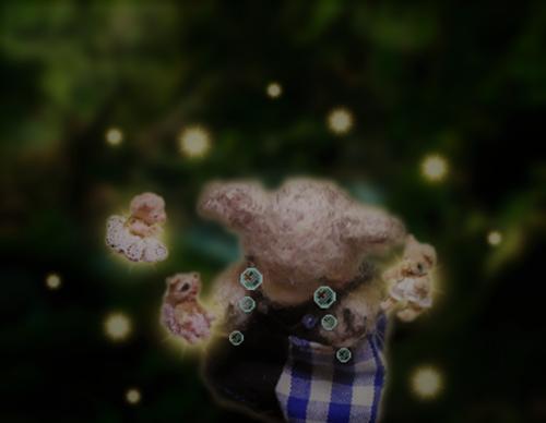 森ぼかし背景C (2)