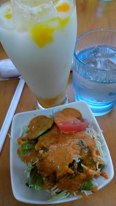 811昼食インド料理