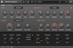 Subtractive synth