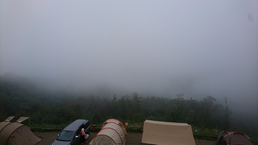 ほったらかしキャンプ 天気