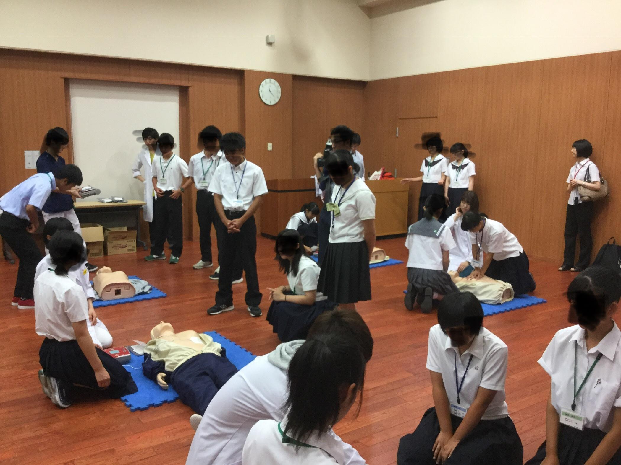 2018高校生のための医療体験セミナー3