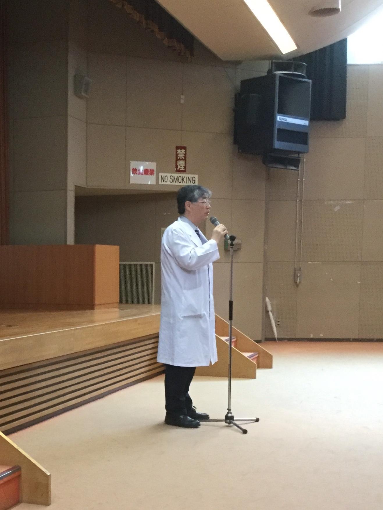 2018早期医療体験学部長挨拶
