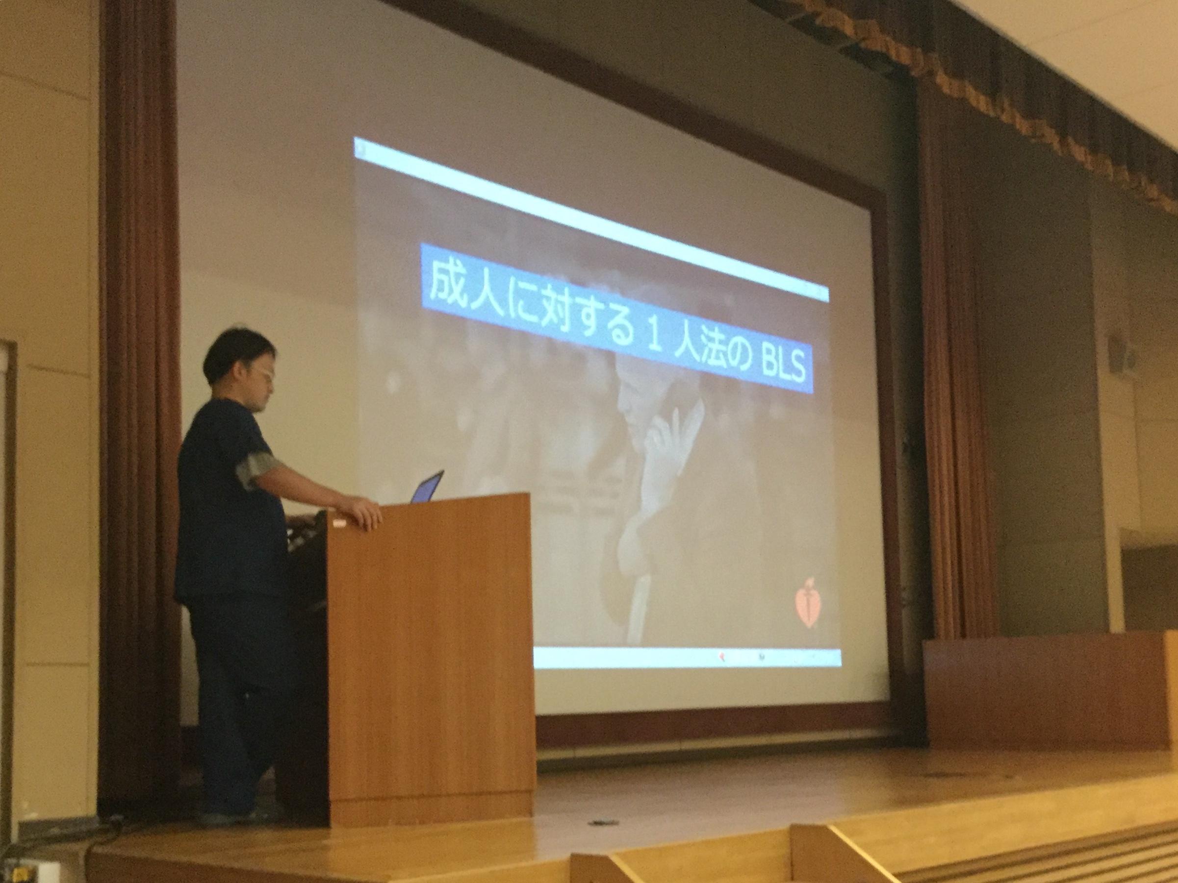 2018早期医療体験小林先生講義