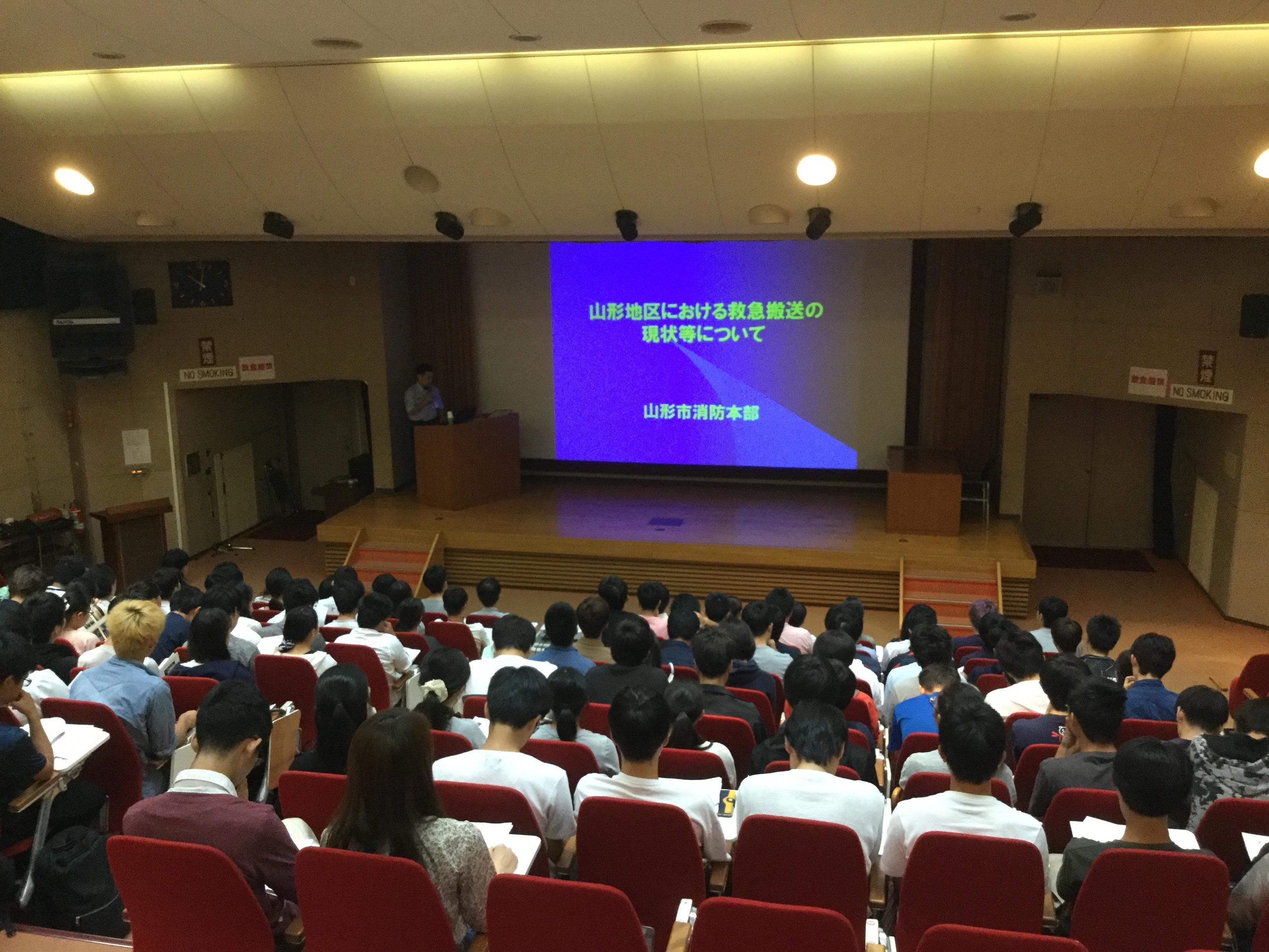 2018早期医療体験消防井上さん講義