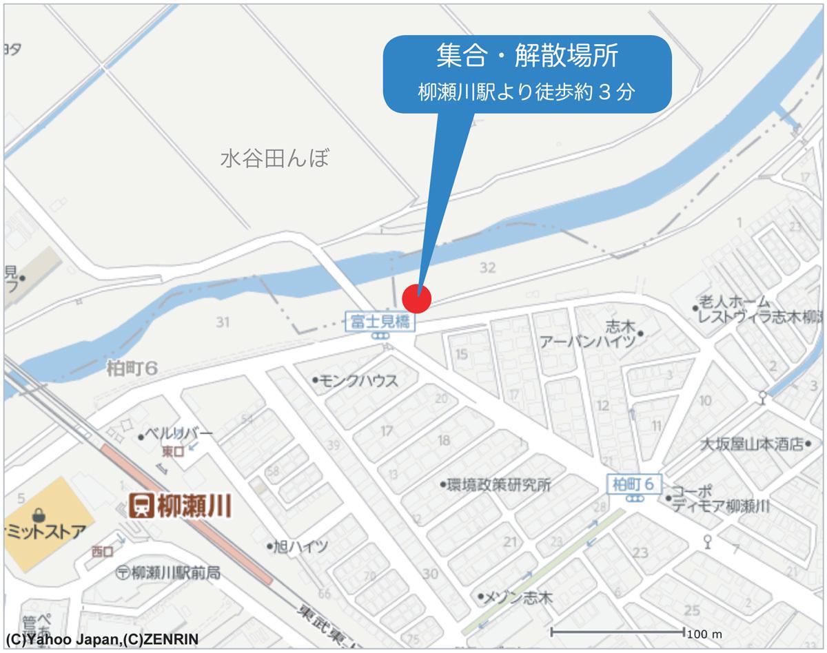 柳瀬川探鳥会集合場所