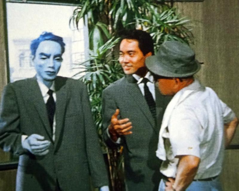 『ガス人間第一号』土屋、円谷、人形