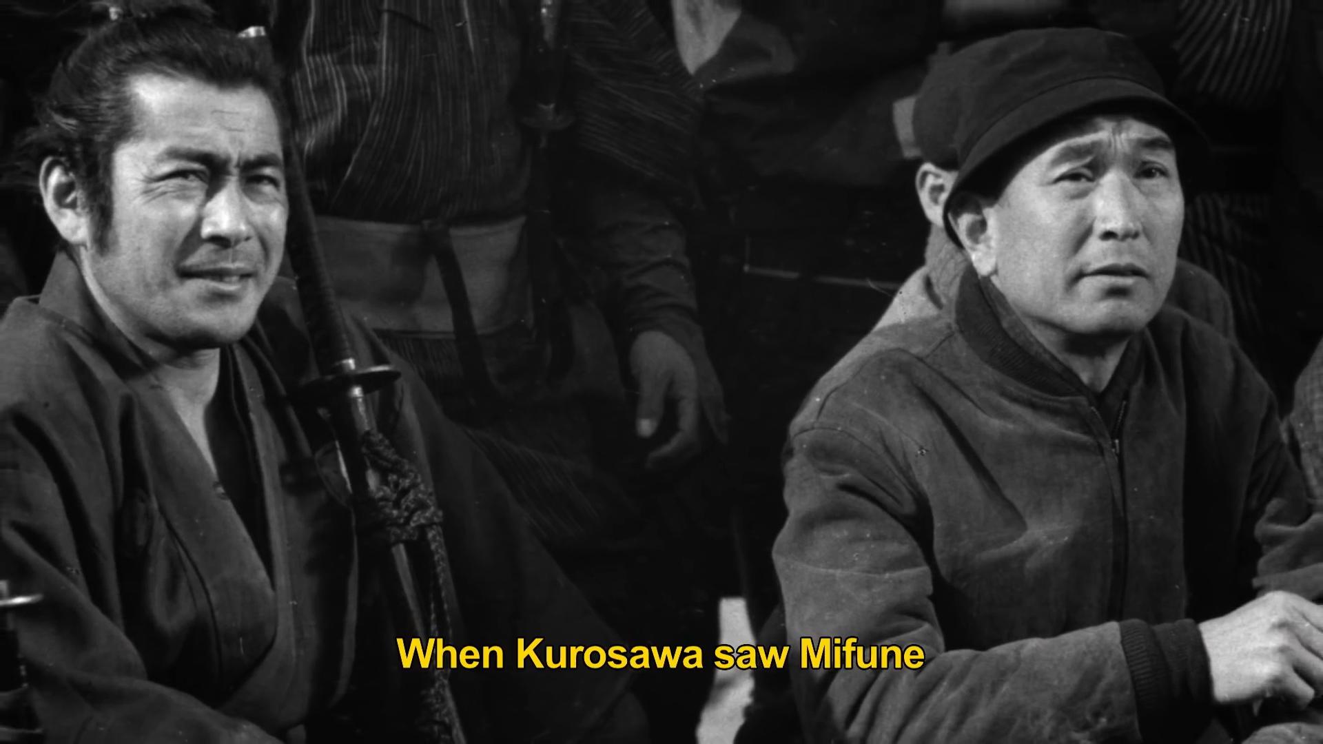 『MIFUNE』YOUTUBE予告編より 黒澤監督と