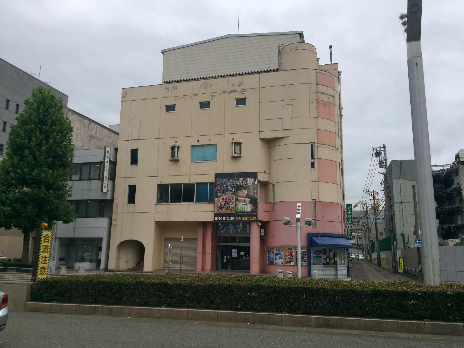 20180808 福井シネマ全景