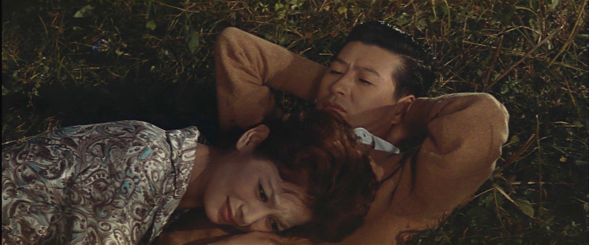 『宇宙大戦争』勝宮と江津子