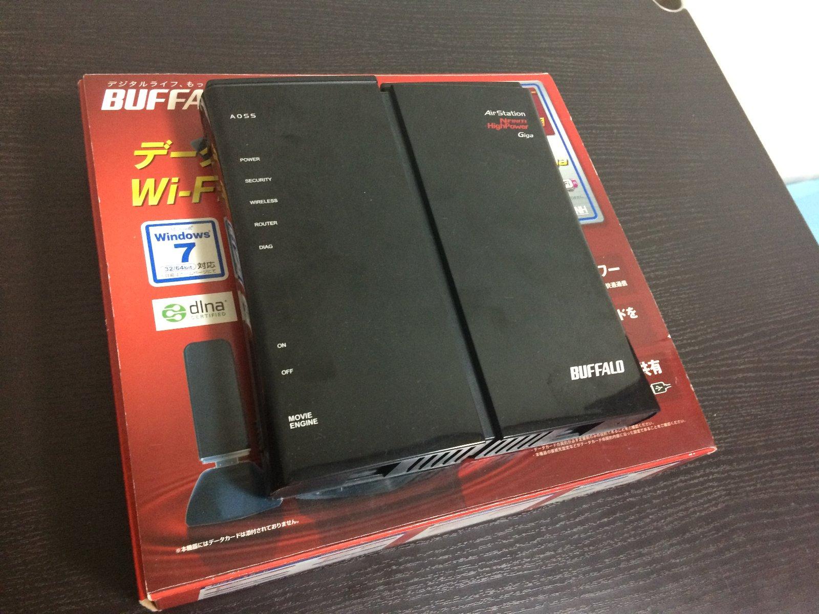 故障したDWR-HP-G300NH
