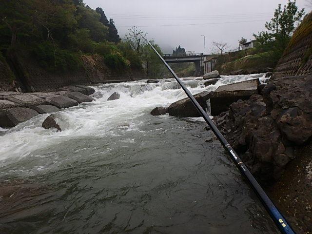 能生川でダブルヘッタ2