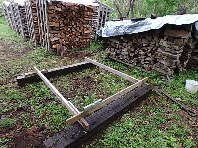 薪の土台作り3