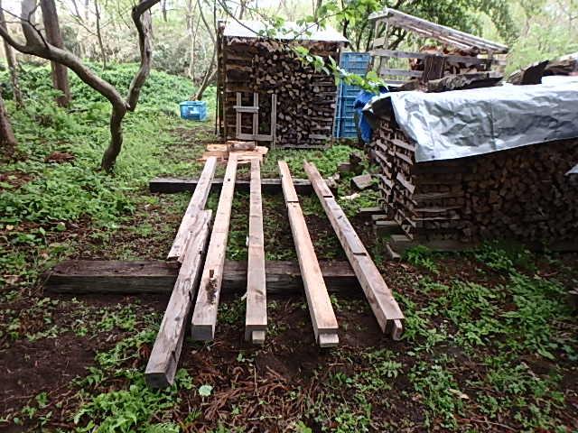 薪の土台作り1