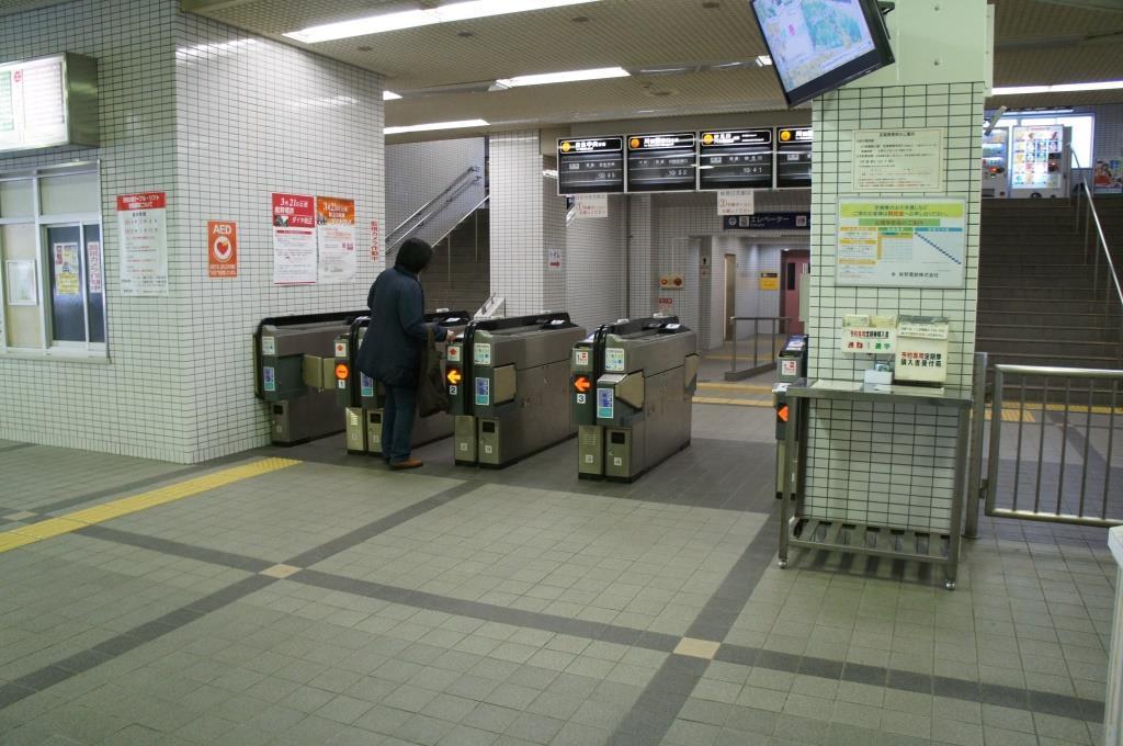 山下駅10