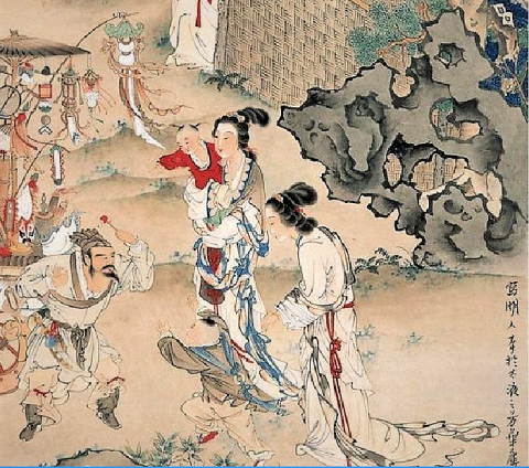 00 bun ko Xu Cao(徐操)飴売り図 (2)
