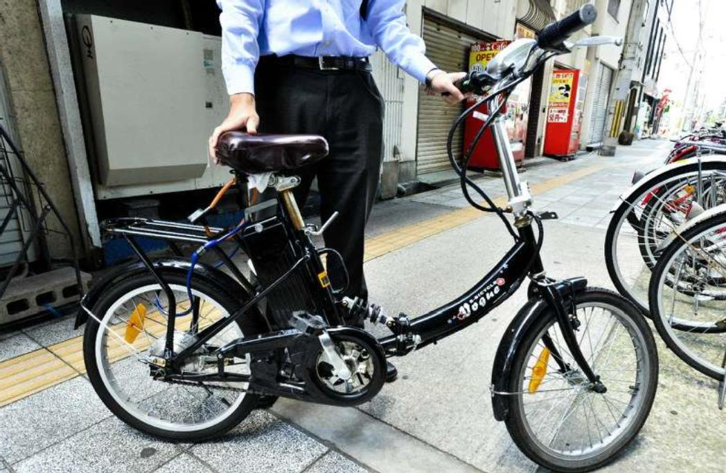 アクセル付きフル電動自転車