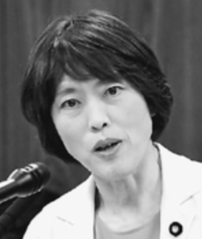 参院内閣委員会で質問する田村智子議員