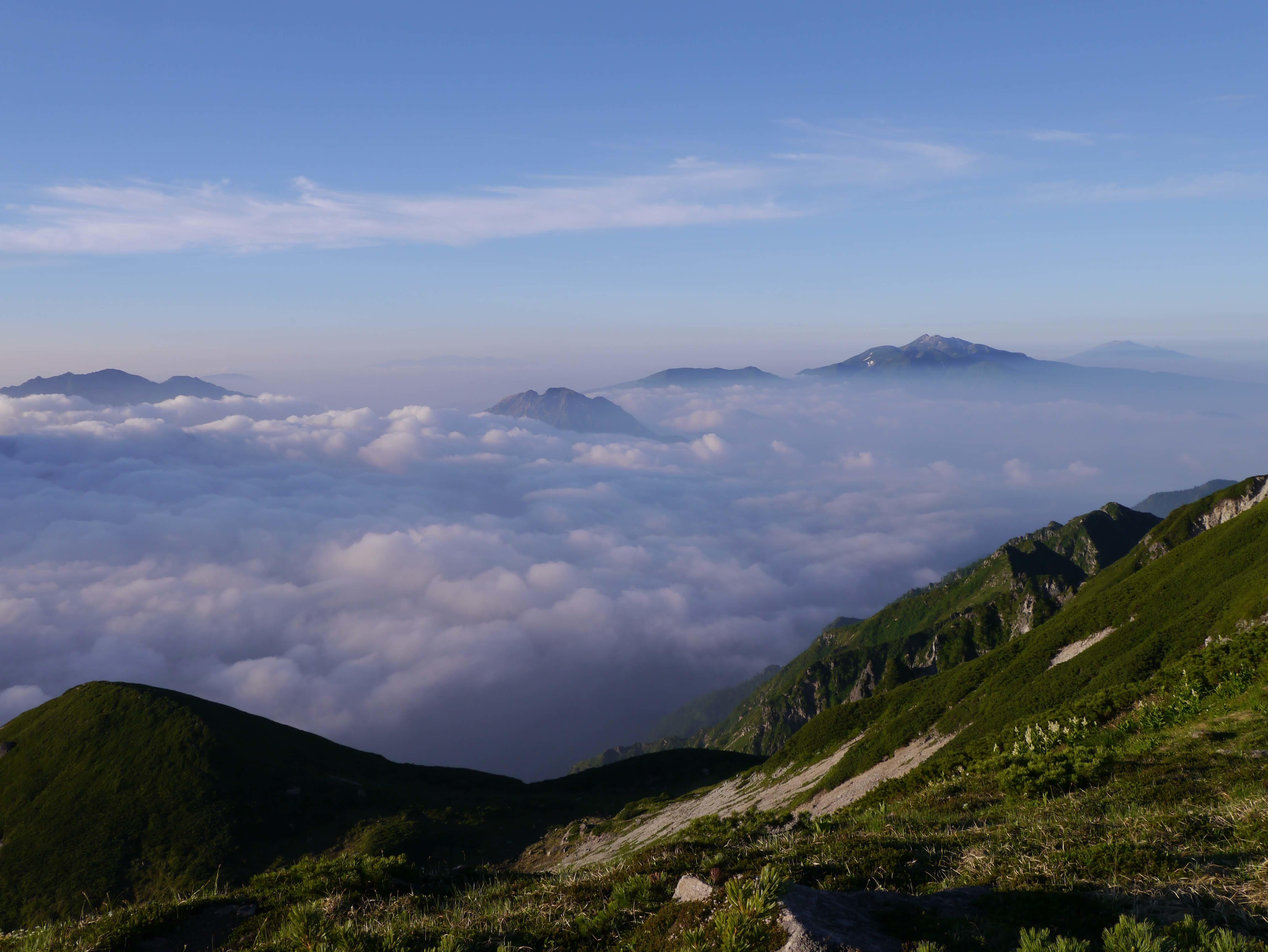 朝日と雲海C_180719