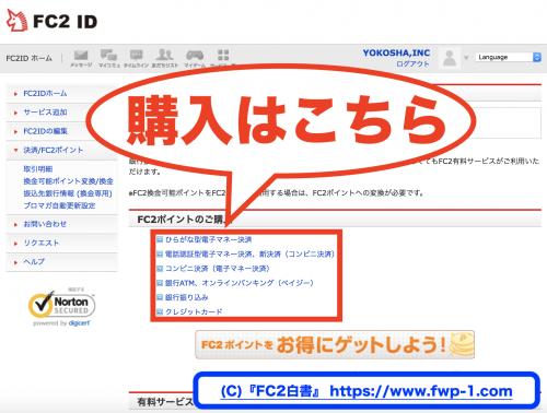 FC2ポイントの交換レートとは(1ポイント=何円なのか)