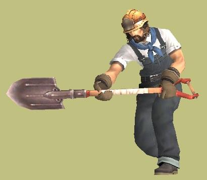 工事現場のオッサン