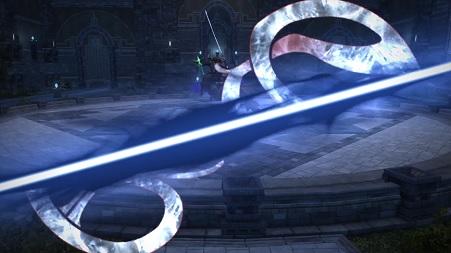 FF14 アメノミハシラ オーディンの魔石 斬鉄剣