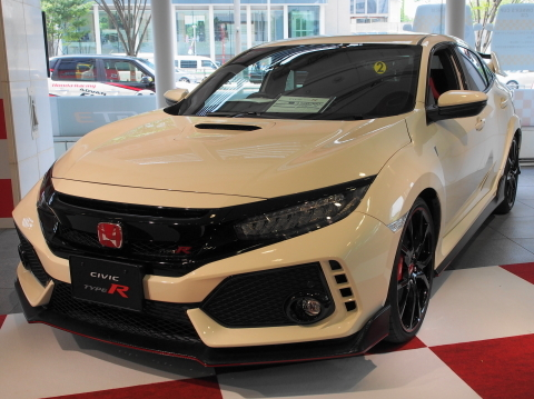 Hondaウエルカムプラザ青山_シビックタイプR