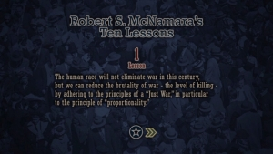 映画「フォッグ・オブ・ウォー」より「マクナマラの10教訓」