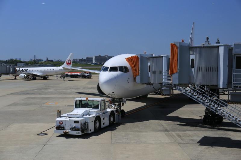 日本航空 国内線 B767