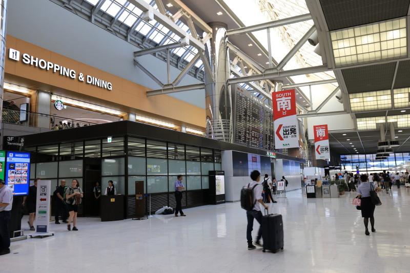 成田空港 JAL 優先セキュリティ