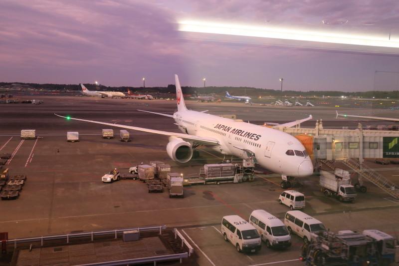 JAL JL771 成田-シドニー B787-9 プレミアムエコノミー