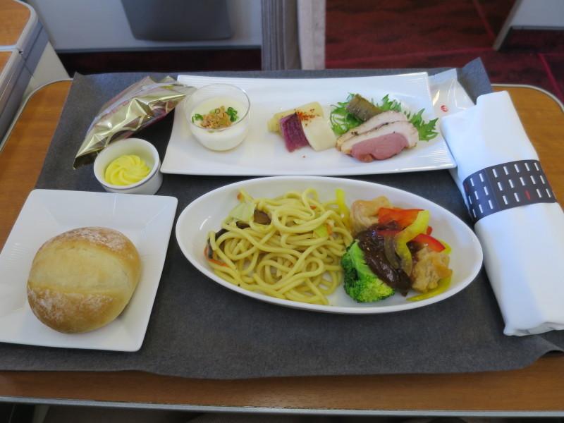 JALファーストクラス 機内食