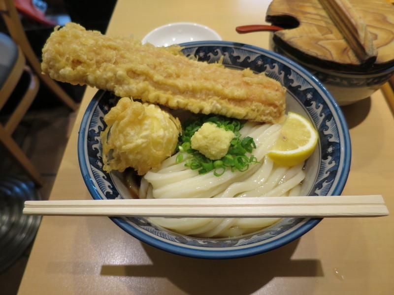 釜たけうどん ちく玉天ぶっかけ 新梅田食堂街 ランチ