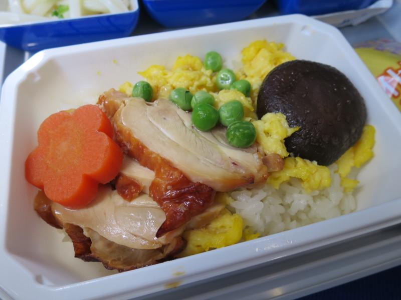 機内食 NH978 エコノミー 青島