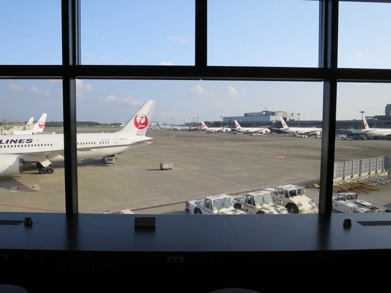 JAL ファーストクラスラウンジ成田サテライト
