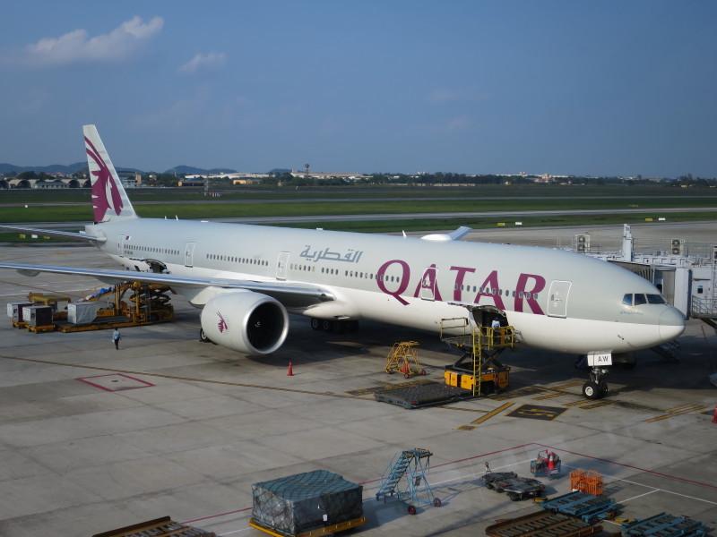 カタール航空 ビジネスクラス 機内食 ハノイ バンコク