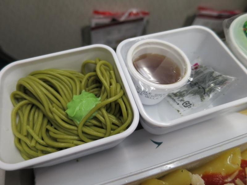 CX502 機内食 キャセイパシフィック