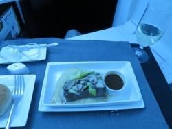 JAL 成田-シンガポール 機内食