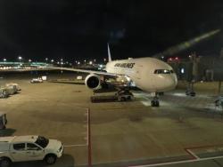 JAL ビジネスクラス JL36 シンガポール 羽田