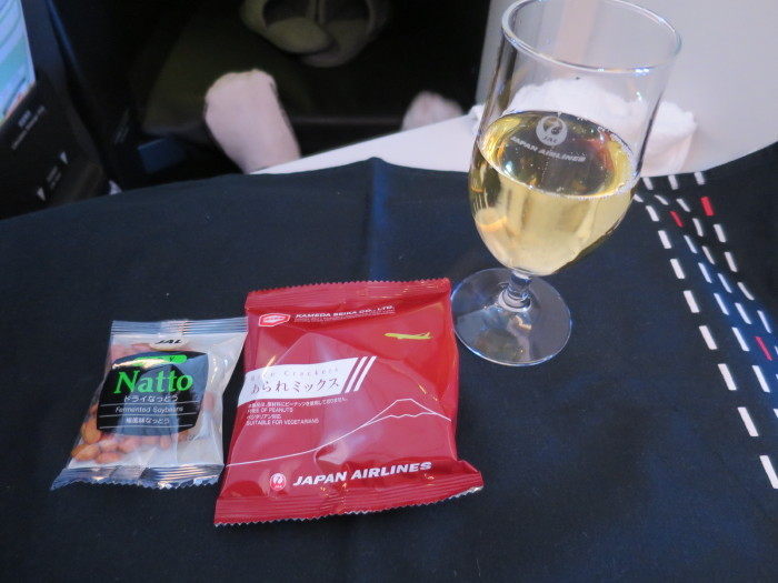JAL ビジネスクラス 食事