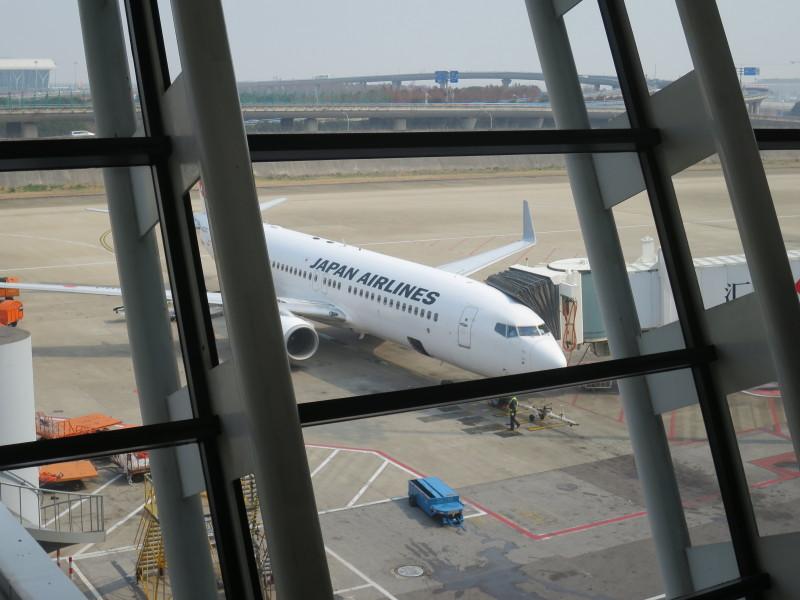 中国 上海空港 ラウンジ 日本航空