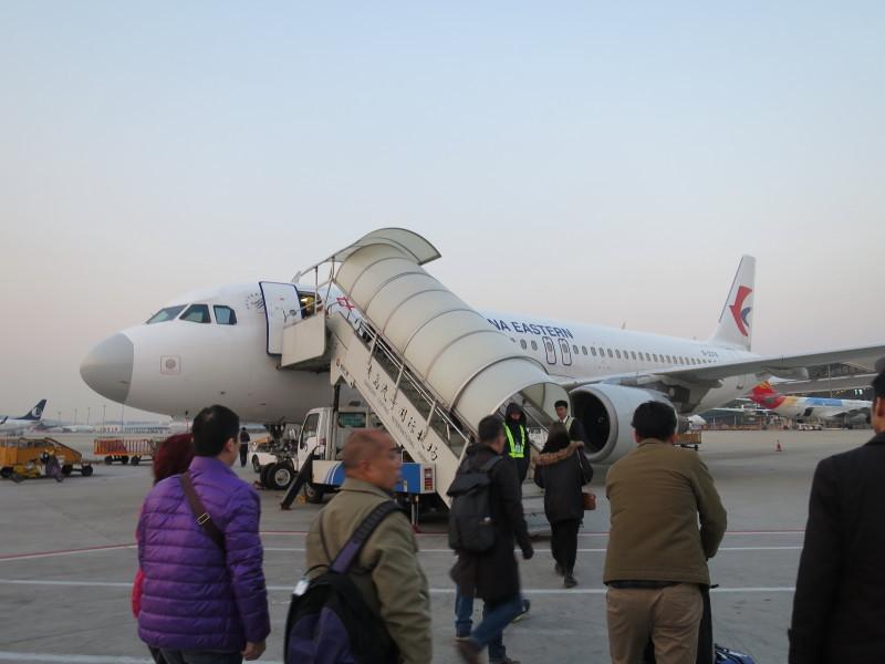 中国東方航空 搭乗記 機内食