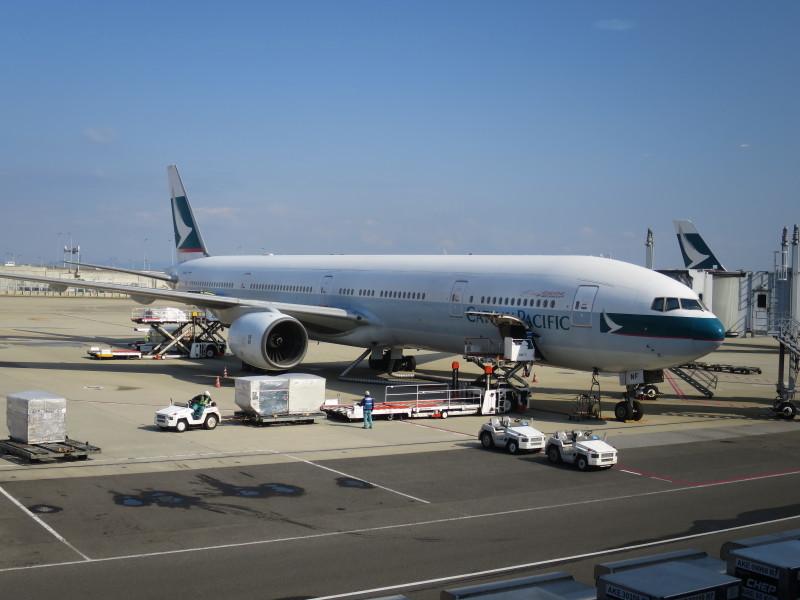 関西空港 北ターミナル キャセイパシフィック