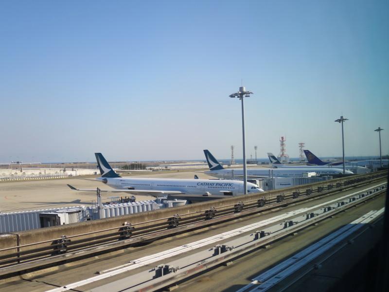 関西空港 キャセイパシフィック CX503