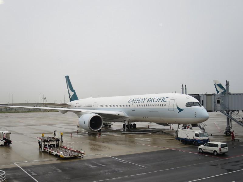 キャセイパシフィック A350-900 CX503