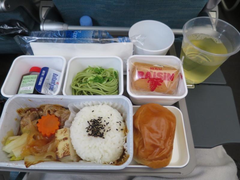 キャセイパシフィック A350-900 CX503 機内食
