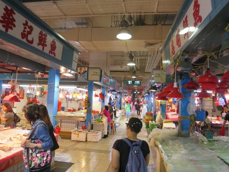 香港 大埔墟マーケット
