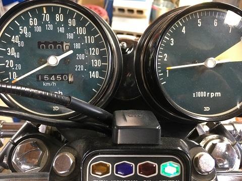 15450マイル